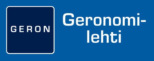 Geronomi-lehti.